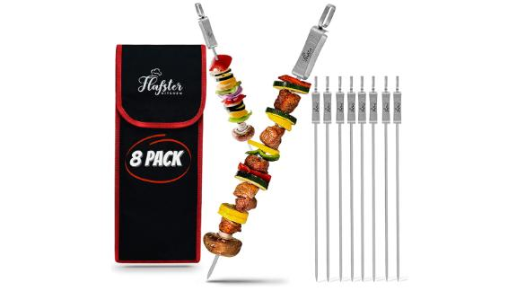 Flafster Kitchen Skewers for Grilling